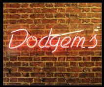 Dodgems Neon Sign